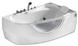 Гидромассажная ванна Gemy G9046 II B R 171х99