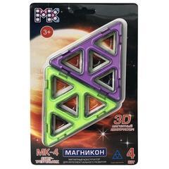 Детали для магнитного конструктора МАГНИКОН Супер Треугольники