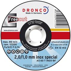 Абразивный отрезной диск Dronco AS 60 T 125х2/1