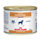 Royal Canin Gastro Intestinal Low Fat Консервы для собак Диета с ограниченным содержанием жиров при нарушениях пищеварения 12х200 г. (662020)
