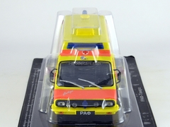RAF-TAMRO Reanimation Ambulance USSR 1:43 DeAgostini Service Vehicle #53