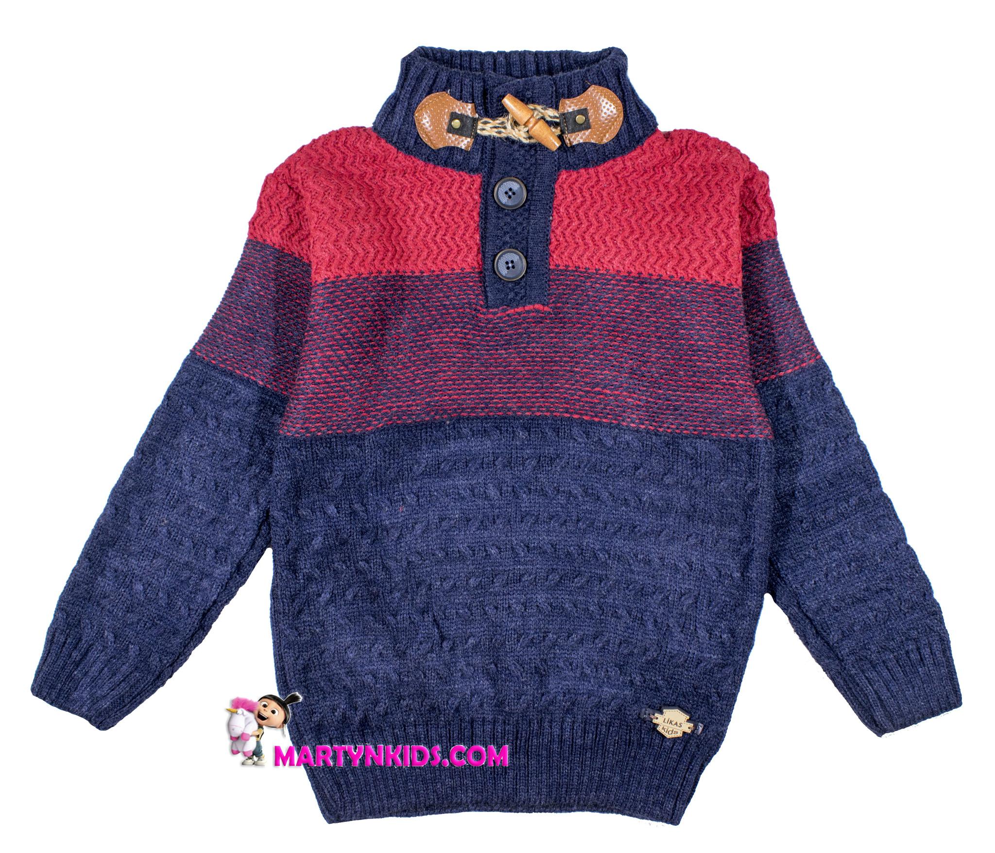 934 свитер пуговица