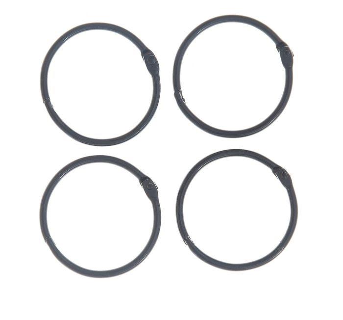 Кольца разъемные для альбомов 40 мм, 2 шт.