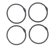 Кольца для альбомов разъемные 40 мм, 2 шт.