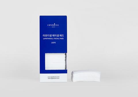 Диски для снятия макияжа и тонера, 100 шт. / Lapothicell Facial Pads