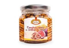 Грецкие орехи и инжир в меду, 300г