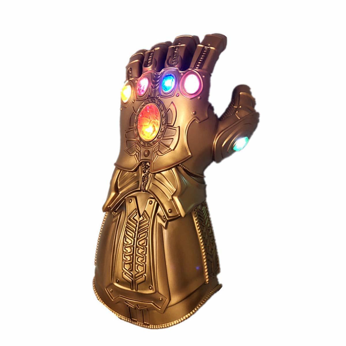 Мстители Война Бесконечности перчатка Таноса с подсветкой