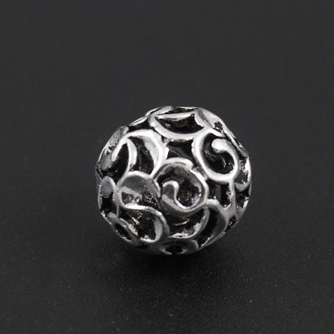 Бусина Романс 11,5 мм серебро 925