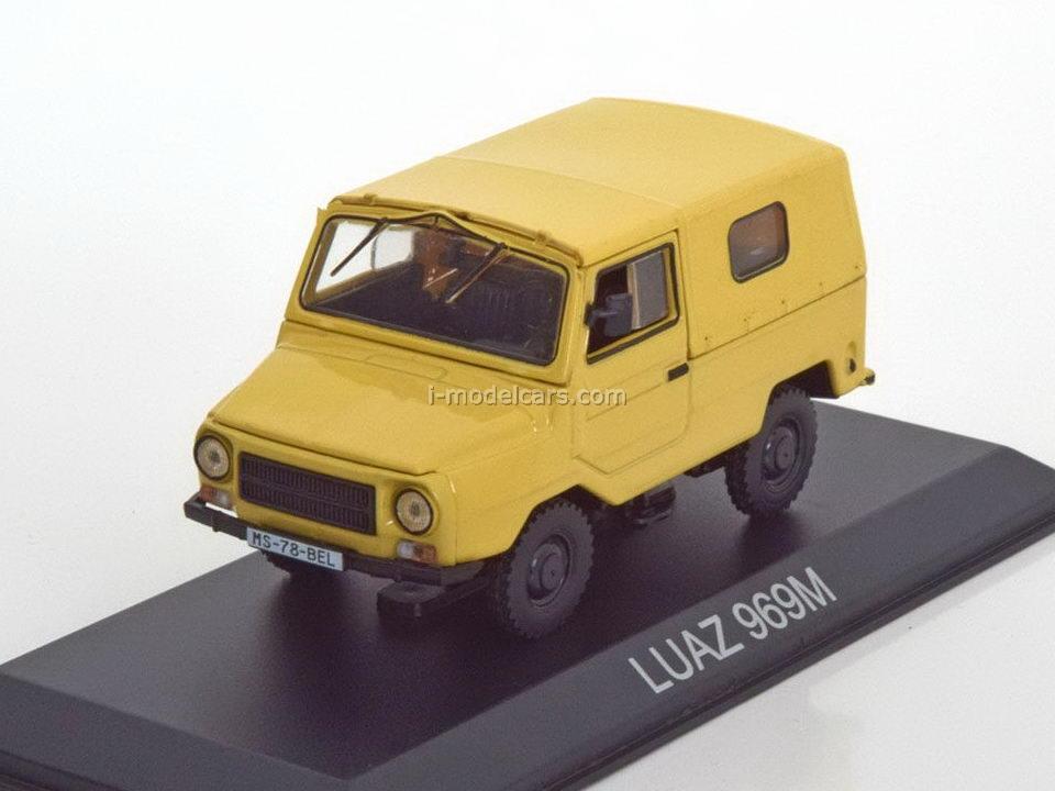 LUAZ-969M beige 1:43 DeAgostini Masini de legenda #28