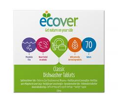 Таблетки ECOVER для посудомоечных машин, ECOVER, 1400 г.