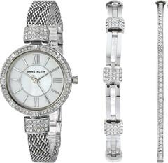 Женские наручные часы Anne Klein 2845SVST в наборе
