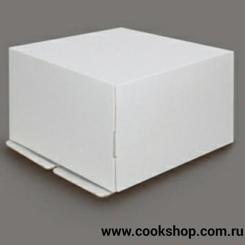 Коробка для торта белая 30*40*27 купить в Хабаровске