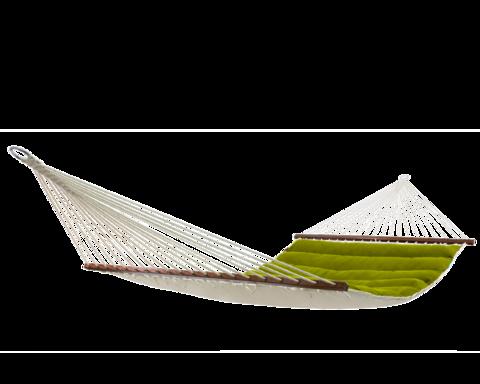 Гамак с планкой семейный Wave зеленый ARF-04
