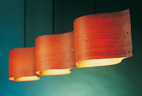 replica Hola Suspension Lamp by LZF