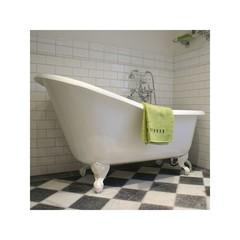 Ванна чугунная классическая Magliezza Beatrice 153x76,5 в компелкте с ножками белыми