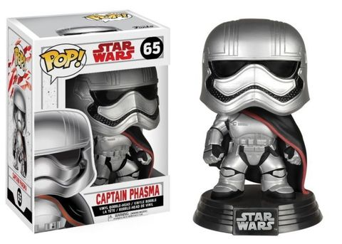 Фигурка Funko POP! Bobble: Star Wars: E8 TLJ: Captain Phasma 14739