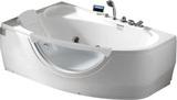 Гидромассажная ванна Gemy G9046 II K L 171х99
