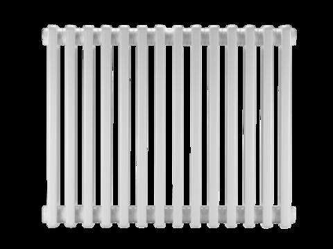 Стальной трубчатый радиатор DiaNorm Delta Complet 2180, 4 секции, подкл. VLO, RAL 8014