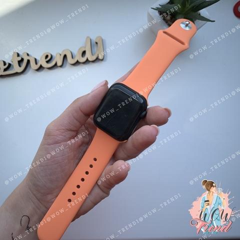 Ремешок Apple watch 42/44mm Sport Band /papaya/ папая