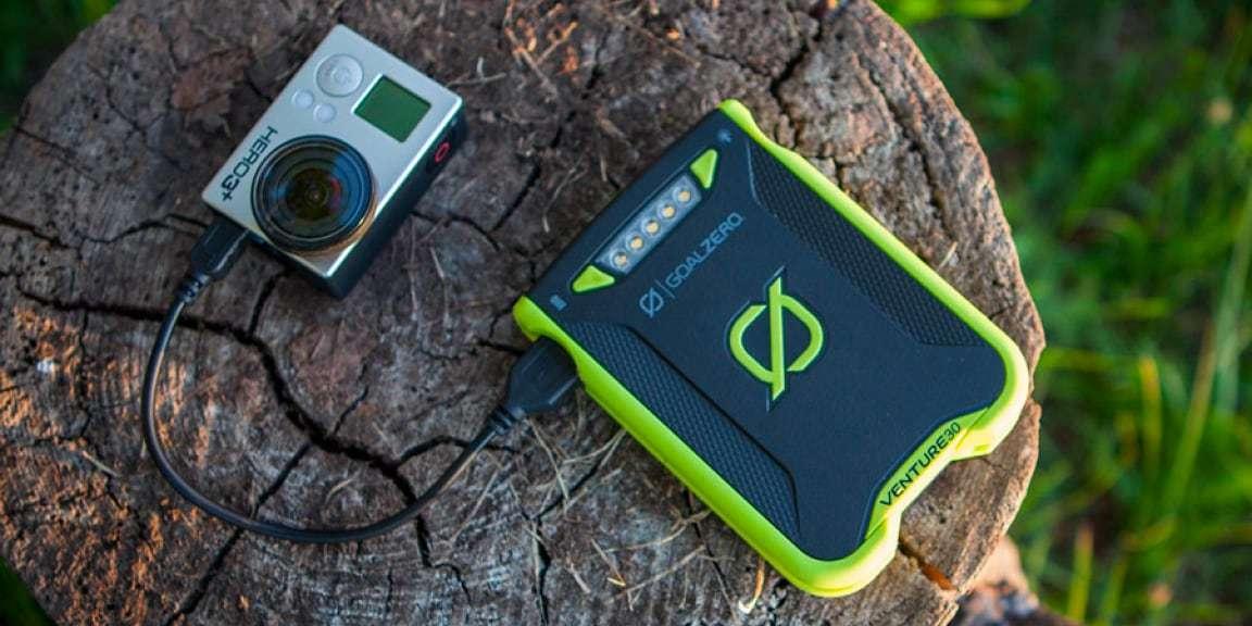 Зарядное устройство Goal Zero Venture 30 Solar Recharge зарядка камеры