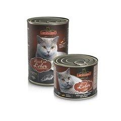 Консервы Leonardo для кошек с печенью