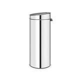 Мусорный бак Touch Bin New (30 л), Стальной полированный, арт. 115325 - превью 3