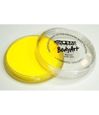 Аквагрим Global неоновый желтый 32 гр