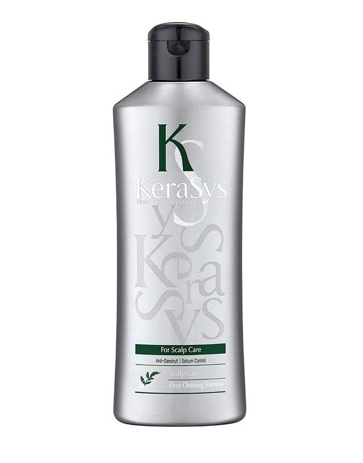 Шампунь для жирной кожей головы Kerasys Deep Cleansing Shampoo 180мл