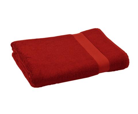 Полотенце 70х140 Hamam Waterside красное