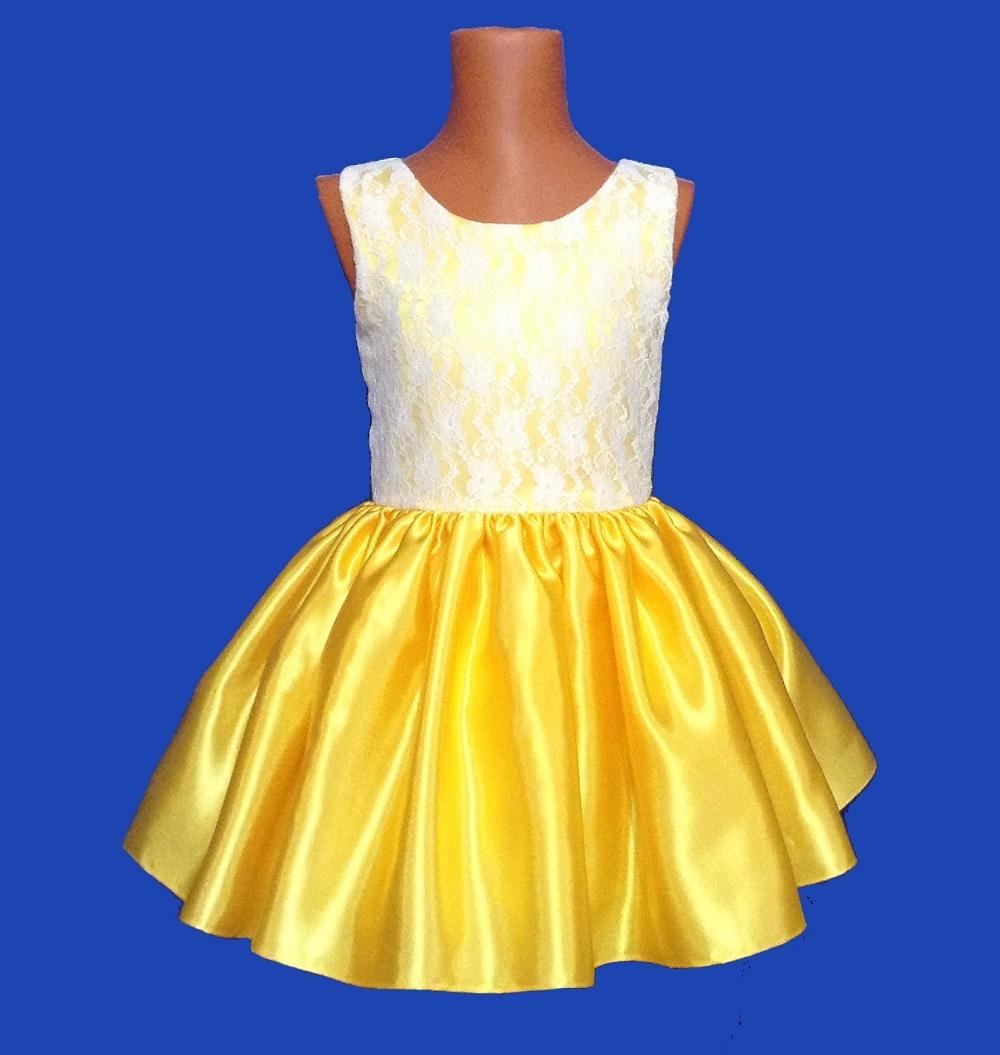 48ab2682f18e2f1 Детское нарядное Платье