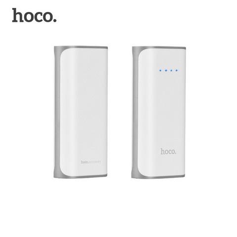 Power Bank HOCO B21 Tiny Concave pattern 5200mAh, white
