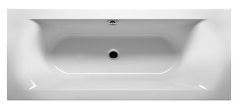 Акриловая ванна Riho LINARES R 180x80  (c тоник бортом)