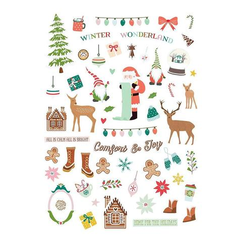 Высечки Home For Christmas Ephemera Cardstock Die-Cuts 59шт
