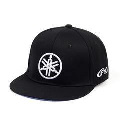 Кепка с вышитым логотипом Ямаха (Бейсболка Yamaha fx) черная