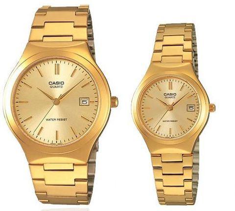 Купить Парные часы Casio Standard: MTP-1170N-9A и LTP-1170N-9A по доступной цене
