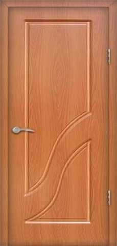 Дверь Сибирь Профиль Грация, цвет миланский орех, глухая