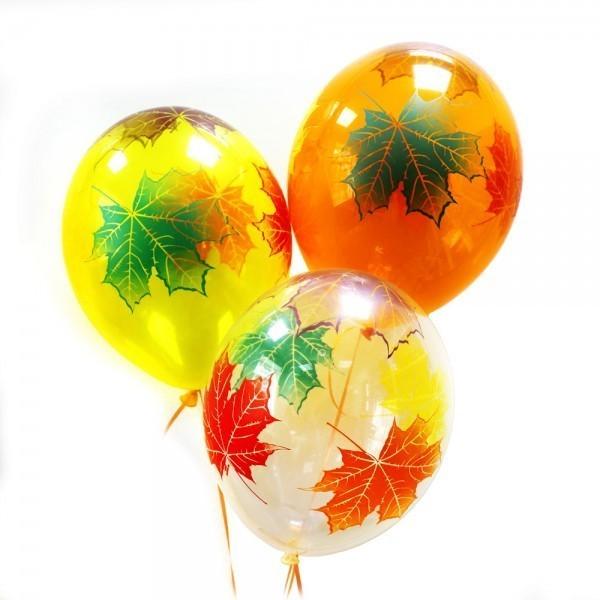 Воздушные шары Кленовые листья