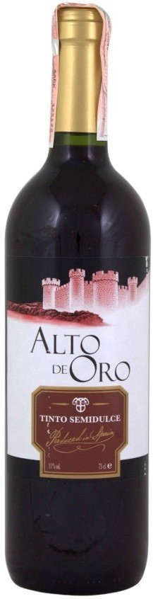 Alto de oro Red Semi - Sweet
