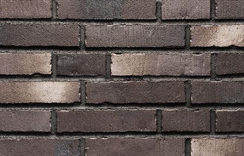 Stroeher, фасадная плитка под кирпич, цвет 394 schwarzkreide, серия Handstrich, узкая, состаренная поверхность, ручная формовка, 240x52x14