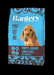 Banters Puppy Junior ягненок с рисом сухой корм для собак