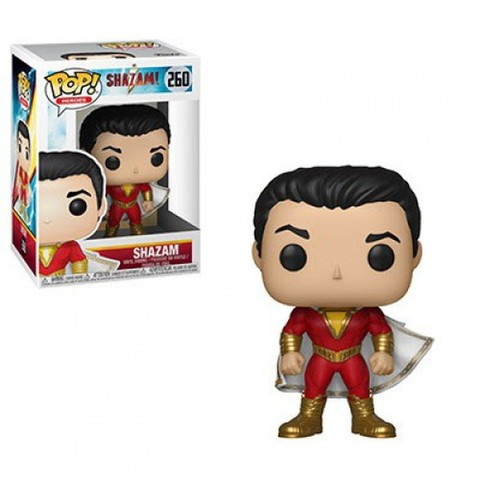 FUNKO-POP! HEROES: SHAZAM-SHAZAM (UK IMPORT) ACC NEW