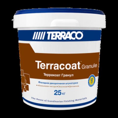 Terraco Terracoat Granule/Террако Терракоат Гранул декоративное покрытие на акриловой основе с зернистой текстурой типа «Шуба»