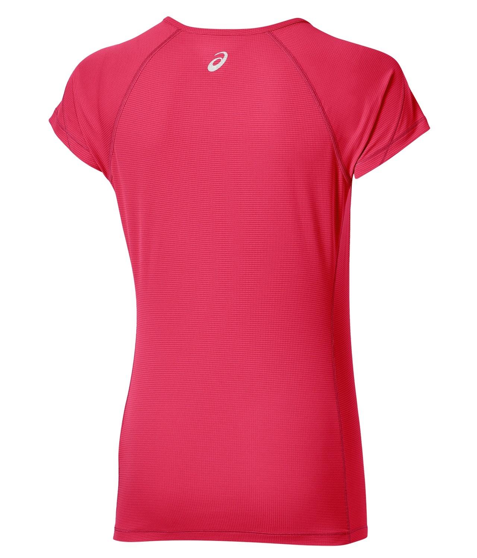 Женская футболка для бега Asics SS Top (110422 6016) коралловая фото