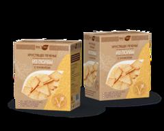 Печенье из полбы, Вастэко, с кунжутом и солью хрустящее, 170 г.