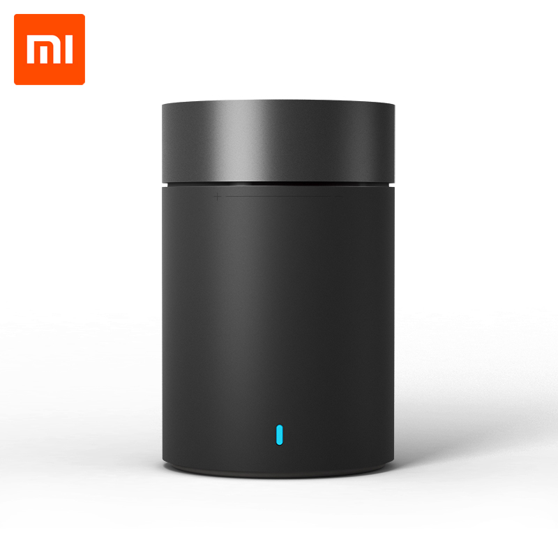 Портативная Bluetooth колонка Xiaomi Mi Round 2 Black (New Cannon 2)