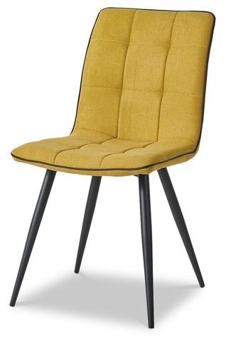 Стул ESF SKY6800-1 желтый/черный