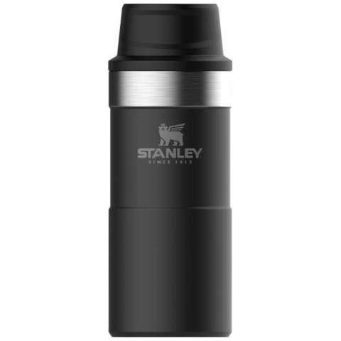 Термокружка Stanley Classic 0.35 LOne hand 2.0 черная