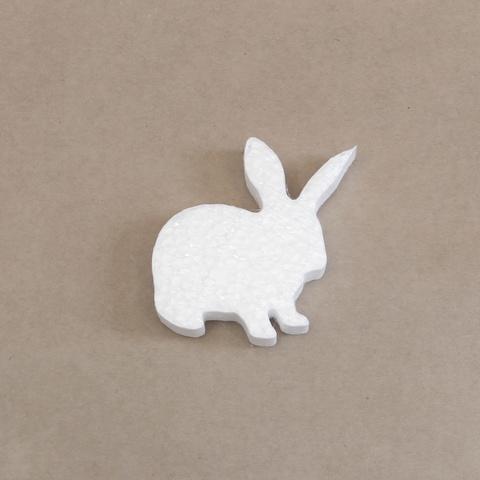 кролик из пенопласта.