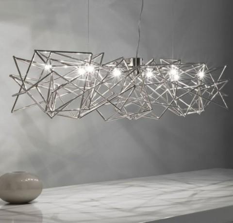 chandelier  Terzani etoile ( 125 cm )