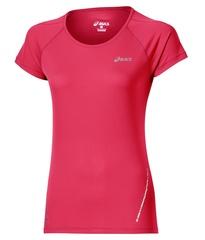 Женская беговая футболка Asics SS Top (110422 6016) коралловая фото